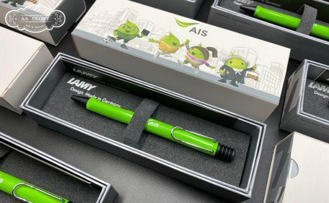 ตัวอย่าง สินค้าของพรีเมี่ยม ปากกา Lamy สกรีนโลโก้